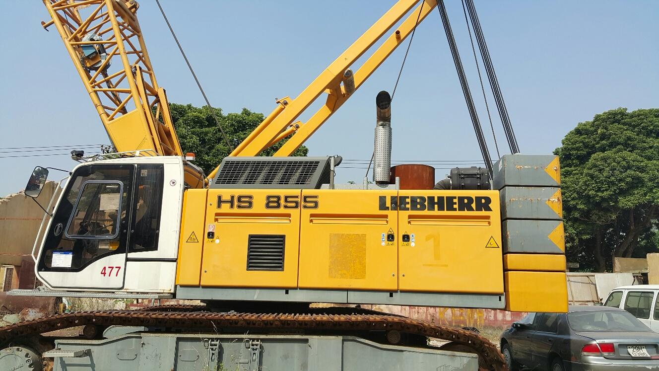 Máy cạp tường Liebherr HS855HD